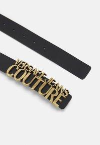 Versace Jeans Couture - VITELLO BELTS - Belt - nero - 3