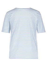 Gerry Weber - MIT MUSTERMIX - Print T-shirt - blau/ecru/weiss multicolor - 4