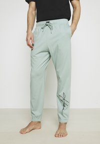 Hollister Co. - LOUNGE BOTTOM JOGGERS - Pyjama bottoms - blue wash - 0