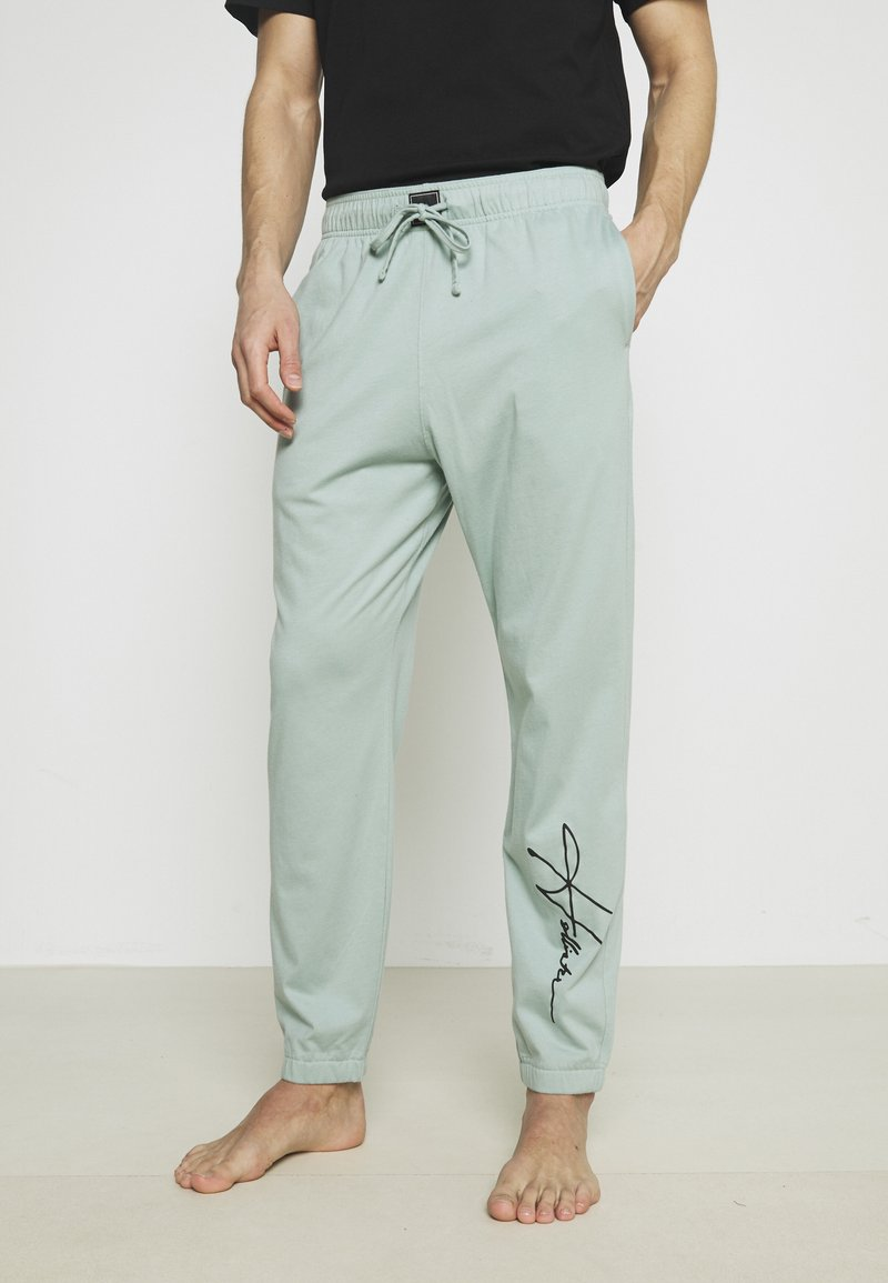 Hollister Co. - LOUNGE BOTTOM JOGGERS - Pyjama bottoms - blue wash