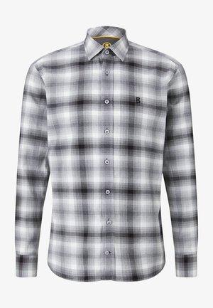 Shirt - weiß/grau/schwarz