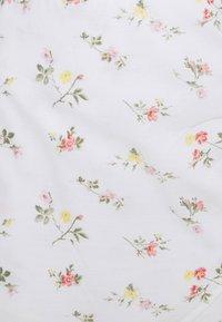Abercrombie & Fitch - BARE WRAP SHORT DRESS - Kjole - white - 5