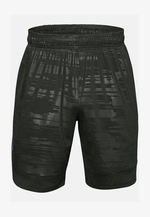 TRAIN STRETCH PRINT  - Sports shorts - baroque green