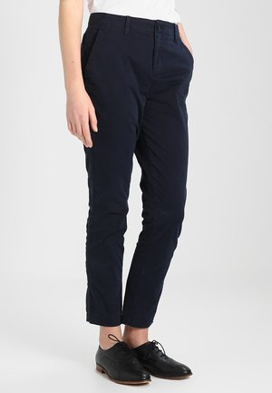 GIRLFRIEND SOLID - Pantalones chinos - true indigo