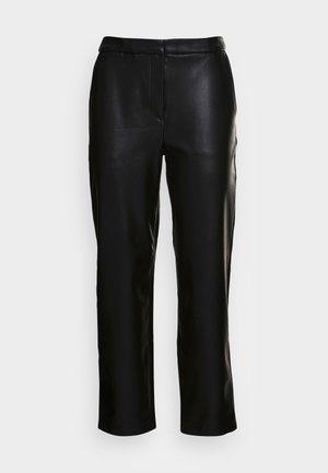 STRAIGHT - Kalhoty - black
