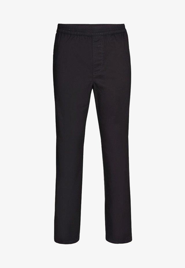 MIT KOMFORTBUND - Trousers - black