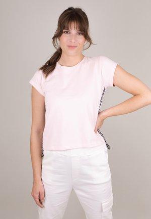 Print T-shirt - soft powder multicolor