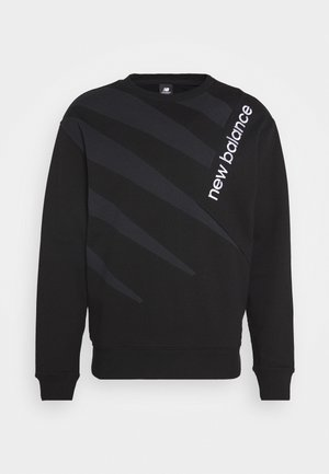 ATHLETICS VILLAGE CREW - Sweatshirt - black