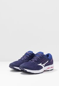 Mizuno - WAVE STREAM 2 - Scarpe running neutre - astral aura/white/blueprint - 2