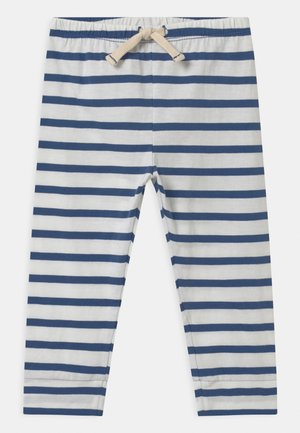 Trousers - chrome blue