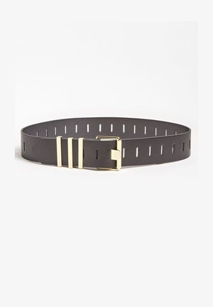 CEINTUUR MET METALLIC APPLICATIES - Belt - zwart