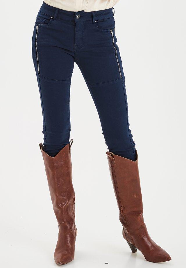 PZMOLLY - Jeans Skinny Fit - dark sapphire