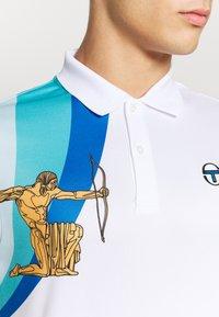 Sergio Tacchini - AREZZO - Polotričko - white/blue - 5