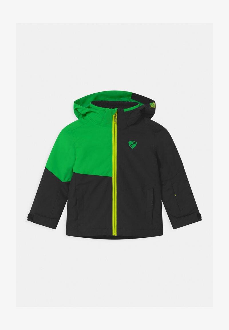 Ziener - ABIAN JUN UNISEX - Snowboardová bunda - black/green