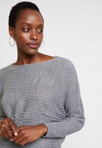 Anna Field - Stickad tröja - mid grey melange - 4