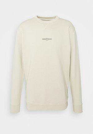 CREW NECK - Sweatshirt - bone white