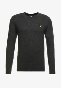 Lyle & Scott - CREW NECK JUMPER - Jumper - charcoal marl - 3
