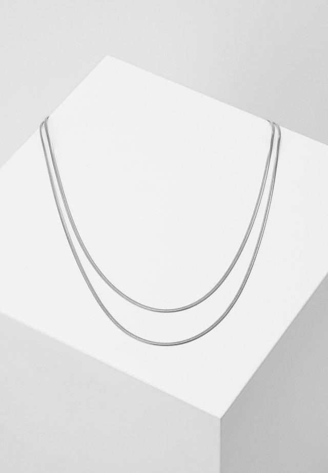 SILK - Necklace - silver-coloured