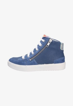 High-top trainers - blausilber