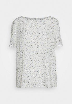 BLOUSE - T-shirt imprimé - off-white