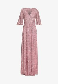 Maya Deluxe - FRONT CAPE SLEEVE DRESS - Abito da sera - pink - 3