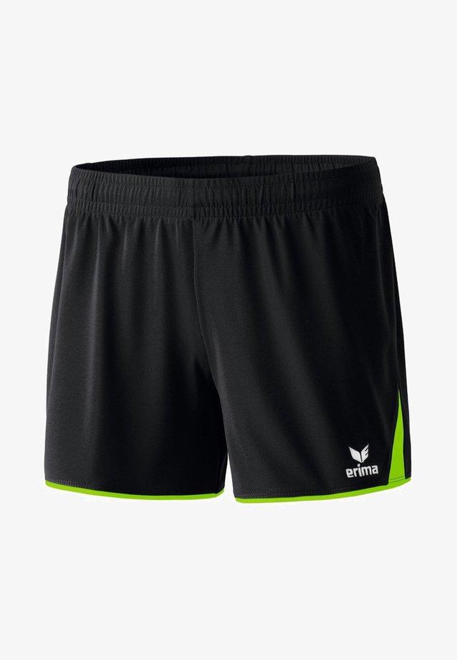 CUBES - Sports shorts - black/green gecko