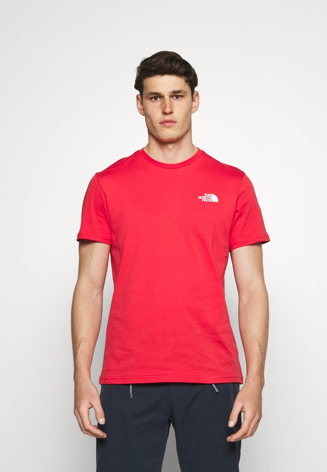 SIMPLE DOME TEE - T-shirt basic - rococco red