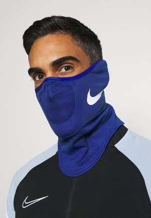STRIKE SNOOD UNISEX - Kruhová šála - deep royal blue/white