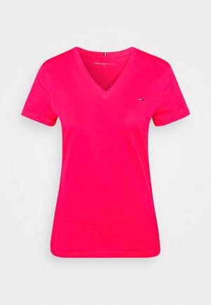NEW VNECK TEE - Basic T-shirt - bright jewel