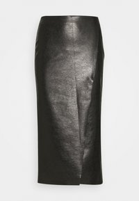 Pinko - NEBBIA SKIRT - Pencil skirt - nero limousine - 0