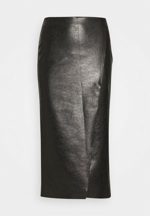 NEBBIA SKIRT - Pencil skirt - nero limousine