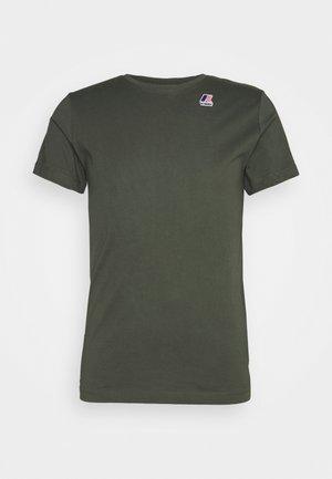 LE VRAI EDOUARD UNISEX - Basic T-shirt - black torba
