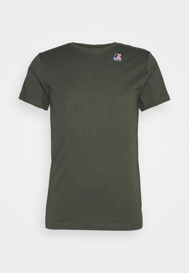 LE VRAI EDOUARD UNISEX - T-shirt basic - black torba