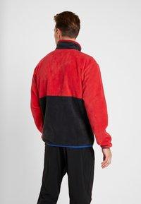 Columbia - BACK BOWL FULL ZIP  - Kurtka z polaru - mountain red/black/azul - 2