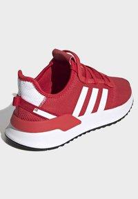 adidas Originals - U_PATH RUN SHOES - Skate shoes - red - 4