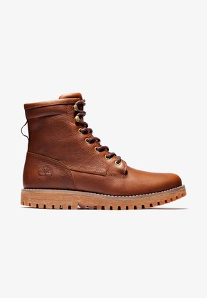 JACKSON'S LANDING PT WP - Lace-up boots - rust full grain