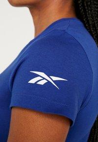 Reebok - TEE - Camiseta básica - cobalt - 4