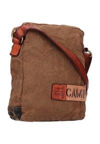 Campomaggi - Across body bag - militare-camou-cognac - 1