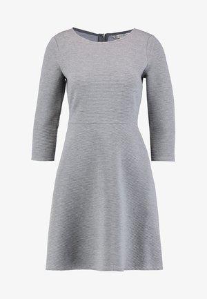 SKATER DRESS ROUND - Jersey dress - middle grey melange