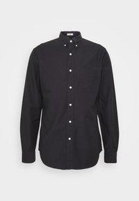 STRETCH OXFORD - Shirt - black