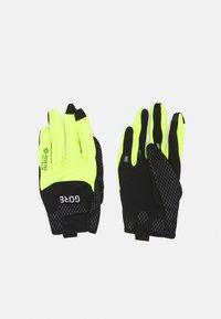 Gore Wear - GLOVES UNISEX - Kurzfingerhandschuh - black/neon yellow - 0