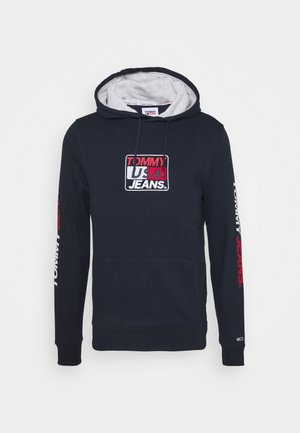 ESSENTIAL GRAPHIC HOODIE - Jersey con capucha - twilight navy