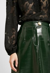 Topshop - A LINE - A-line skirt - dark green