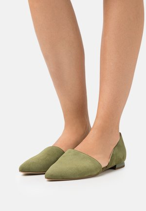 ANYTIME - Loafers - moss