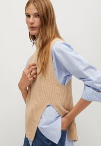 Mango - LEMAR - Pullover - light/pastel grey - 2