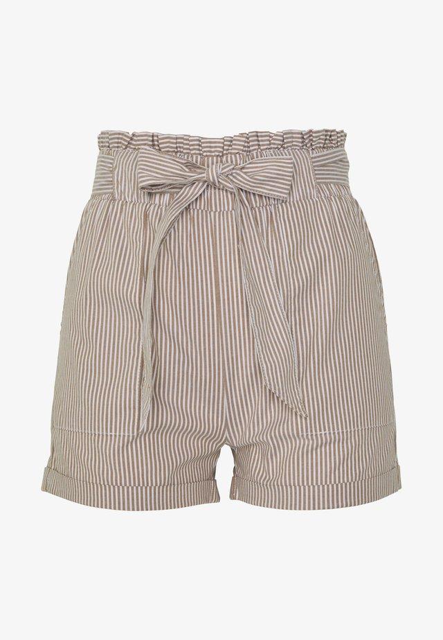 ONLSMILLA BELT - Shorts - toasted coconut