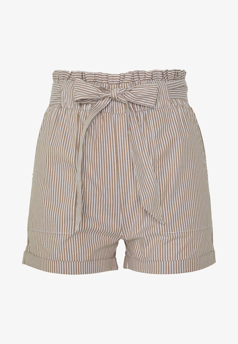 ONLY - ONLSMILLA BELT - Shorts - toasted coconut
