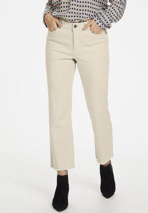 KANICOLE - Jeans Straight Leg - tapioca
