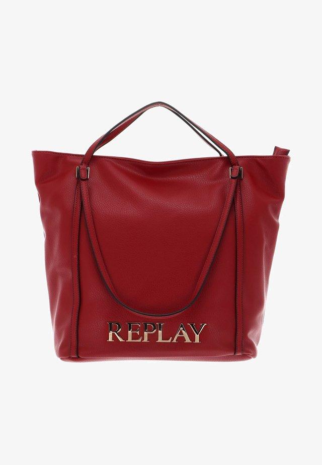 Tote bag - gloss red