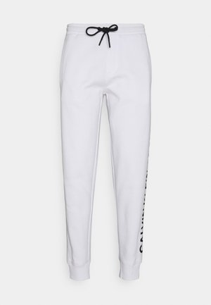 VERTICAL LOGO PANT - Tracksuit bottoms - bright white